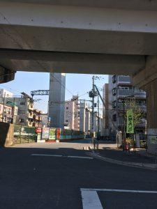 下新庄駅から法律事務所エソラ